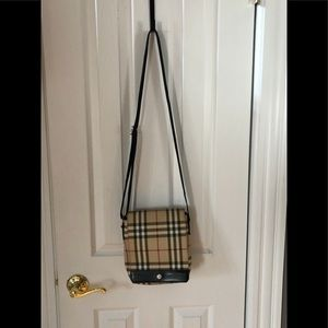 Authentic Burberry Vintage Crossbody Handbag